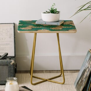 Holli Zollinger Flora Minted End Table