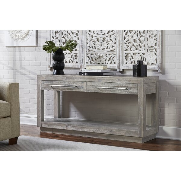 Vickery 60-inch Solid Wood Console Table by Foundry Select Foundry Select