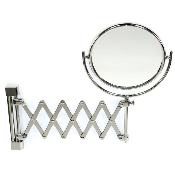 Wall Mounted Extendable Double Face Magnifying Mirror by Windisch by Nameeks