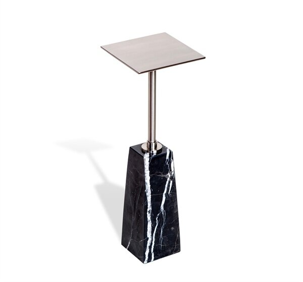 Beck Drink Pedestal End Table By Interlude
