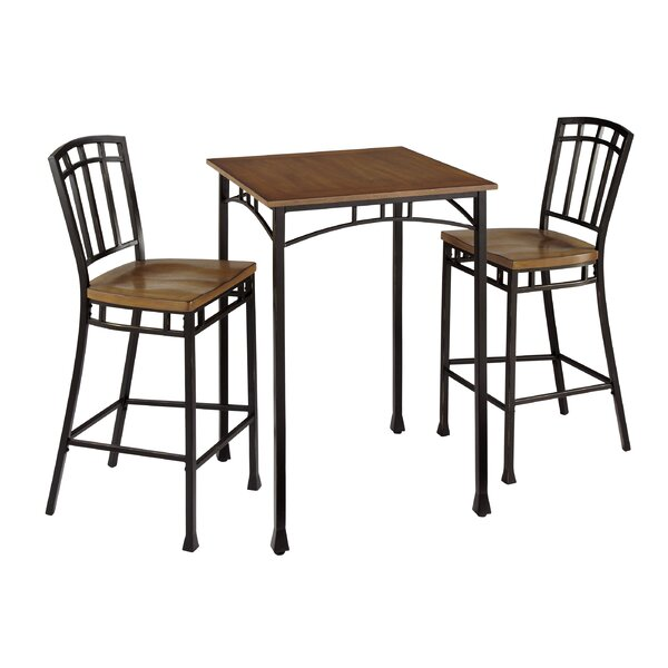 Bilboa 3 Piece Pub Table Set by Trent Austin Design