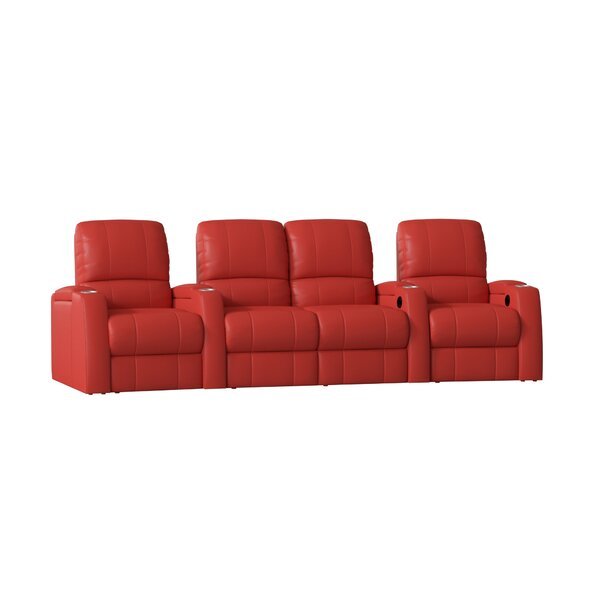 Home Theater Loveseat (Row Of 4) By Orren Ellis