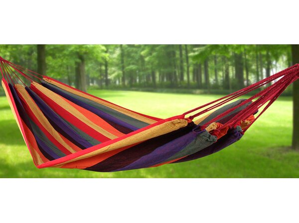 Cotton Camping Hammock by Songmics