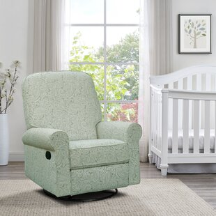 Basil Swivel Reclining Glider Harriet Bee