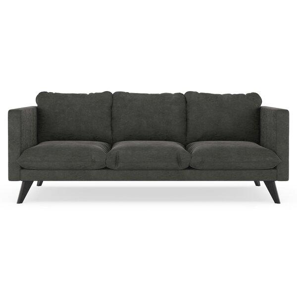 Cowgill Micro Suede Sofa by Corrigan Studio
