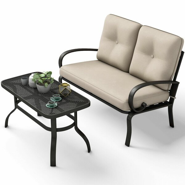 Tisha 2 Piece Sofa Seating Group with Cushions by Winston Porter