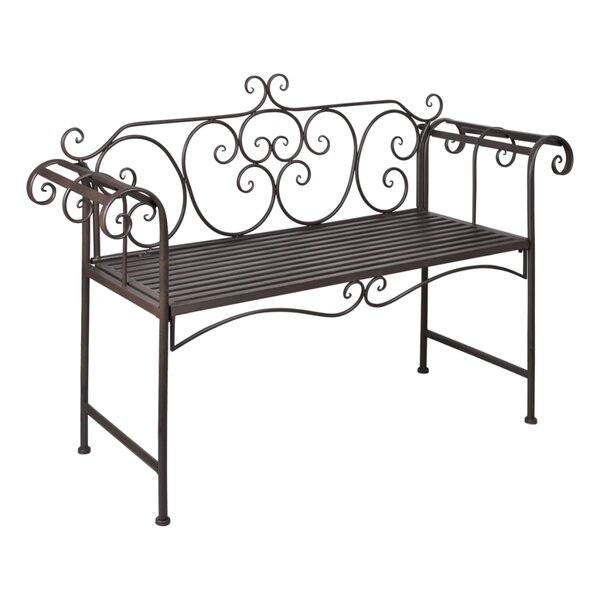 Iron Garden Bench by Fleur De Lis Living
