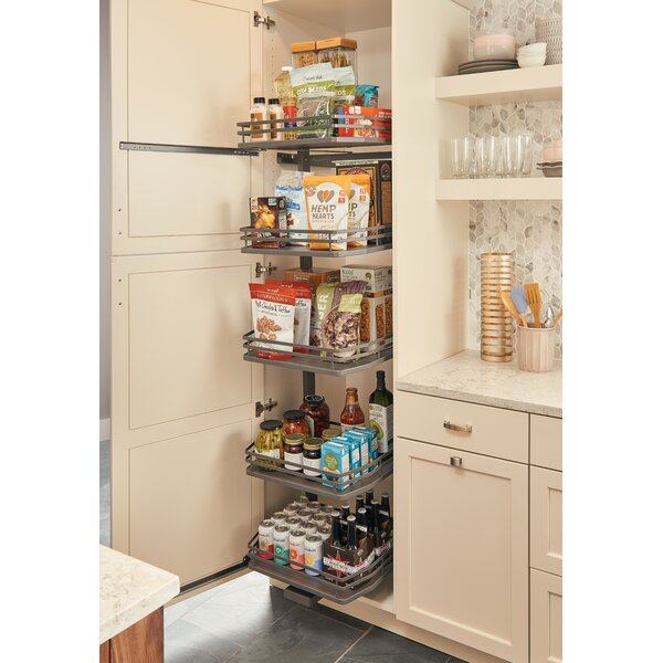 Orion-Gray Swing Out for Pantry by Rev-A-Shelf