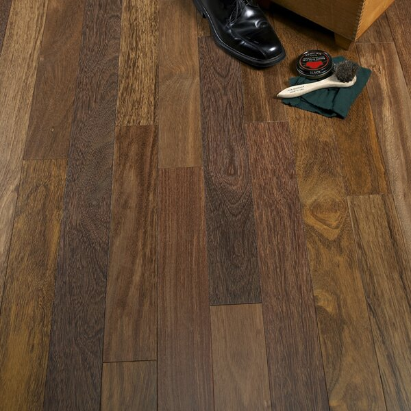 3-1/4 Solid Sucupira Hardwood Flooring in Chestnut by Albero Valley