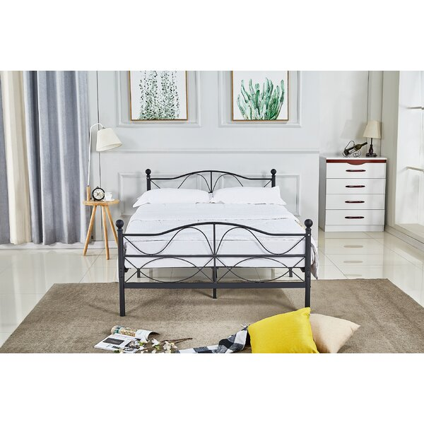 Vanderbilt Metal Platform Bed by Rosalind Wheeler