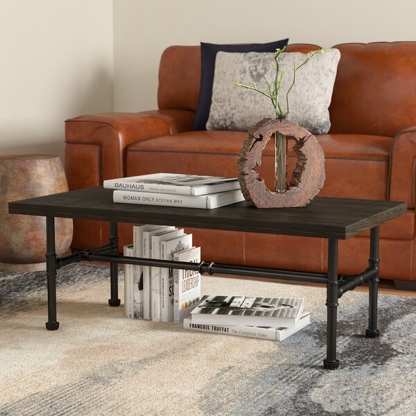 Griffith Industrial Coffee Table by Williston Forg