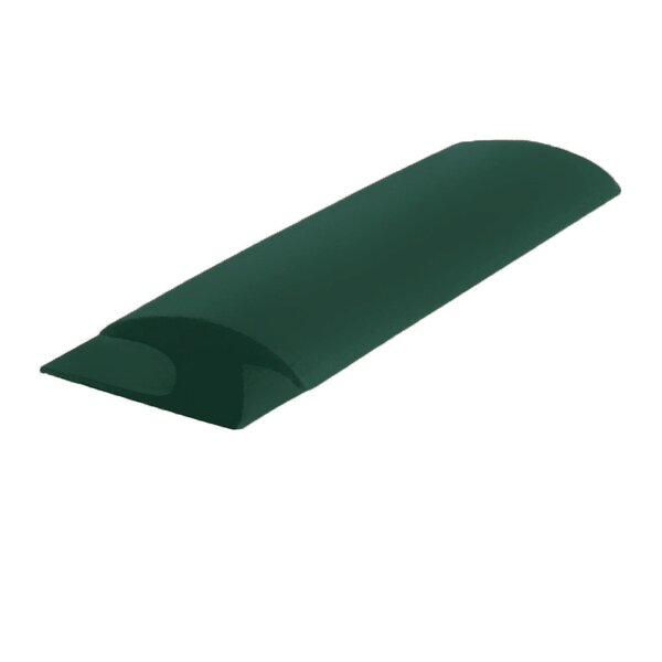 0.22 x 108 x 1 T-Molding in Forest Green by ROPPE