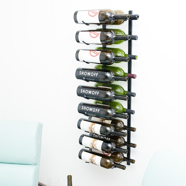 Wall Series 18 Bottle Wall Mounted Wine Bottle Rack by VintageView VintageView