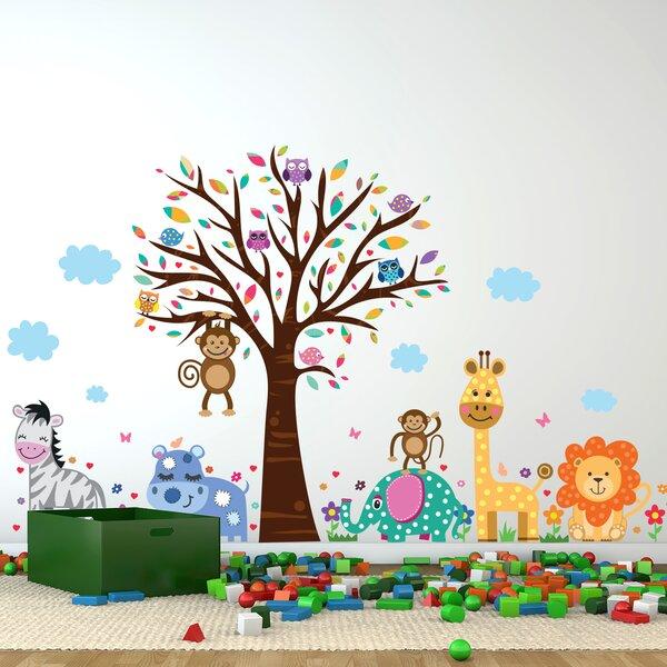 Happy London Zoo Wall Decal by Walplus