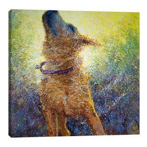 Phoebe's Reign by Iris Scott Painting Print on Wrapped Canvas by Jaxson Rea