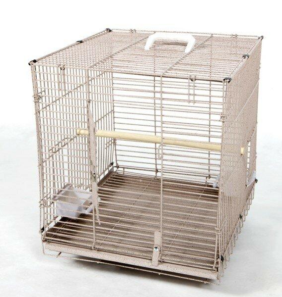 Jaxon Folding Travel Carrier  Bird Cage by Tucker Murphy Pet