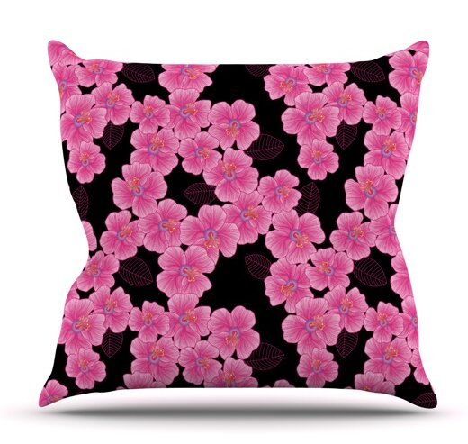 Julia Grifol Outdoor Throw Pillow by East Urban Home