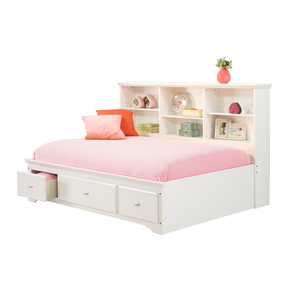 Dartmouth Platform Bed With Drawers by Harriet Bee