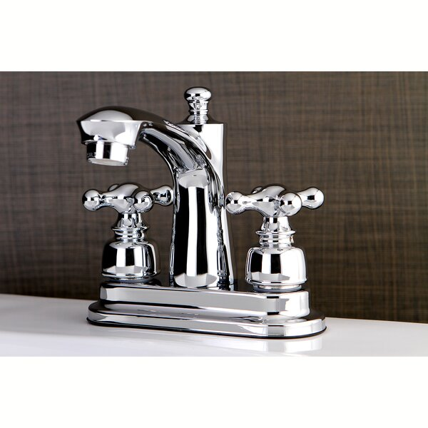 Victorian Centerset Lavatory Faucet With Drain Assembly By Kingston Brass