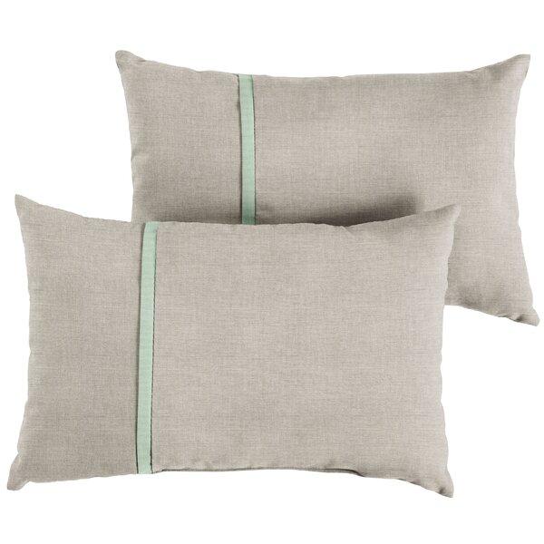 Magers Indoor/Outdoor Lumbar Pillow (Set of 2) by Gracie Oaks
