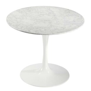 Best Sariah Artificial Marble Dining Table By Ivy Bronx