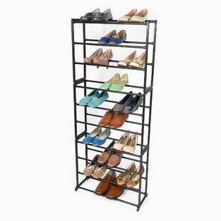 Online Reviews Standing 10-Tier 30 Pair Shoe Rack By Richards Homewares