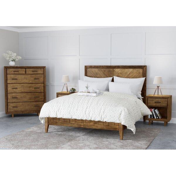 Ian Platform 4 Piece Bedroom Set by Modern Rustic Interiors