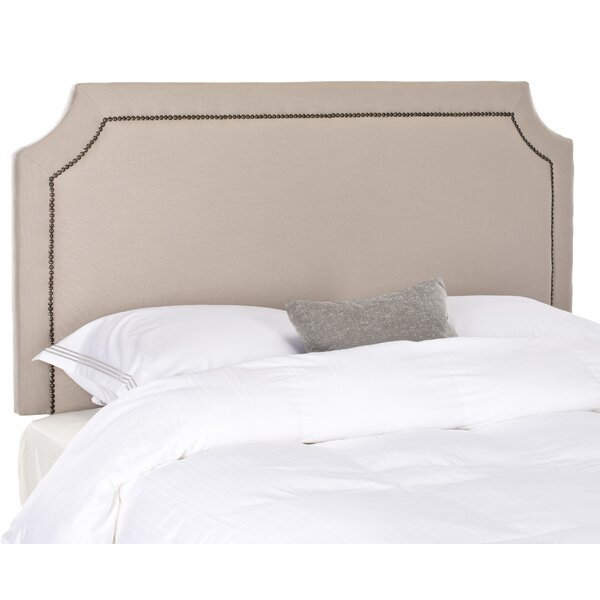 Millington Linen Upholstered Panel Headboard by Three Posts