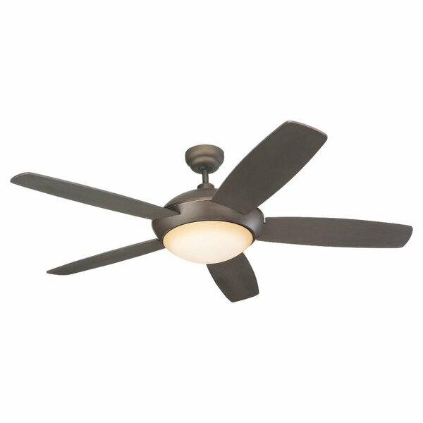 52 Beaton Modern 5 Blade Ceiling Fan with Remote by Fleur De Lis Living