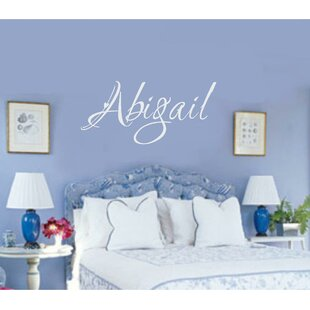 Personalized Name Wall Decal & Baby Name Wall Decals | Wayfair