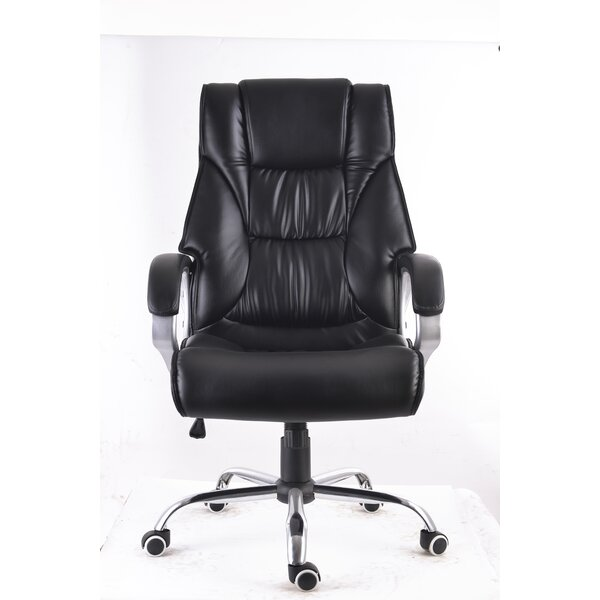 Modern High Back Executive Ergonomic Office Chair by Symple Stuff
