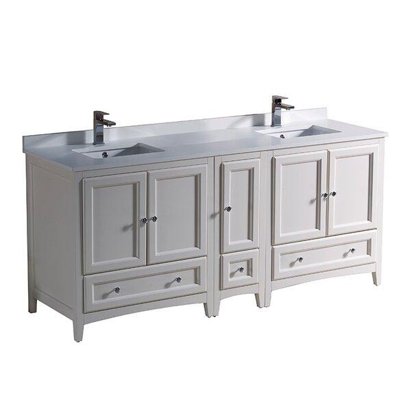 Oxford 72 Double Bathroom Vanity Set by Fresca