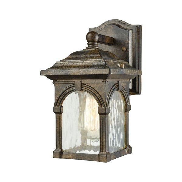 Joshana 1-Light Outdoor Wall Lantern by Gracie Oaks