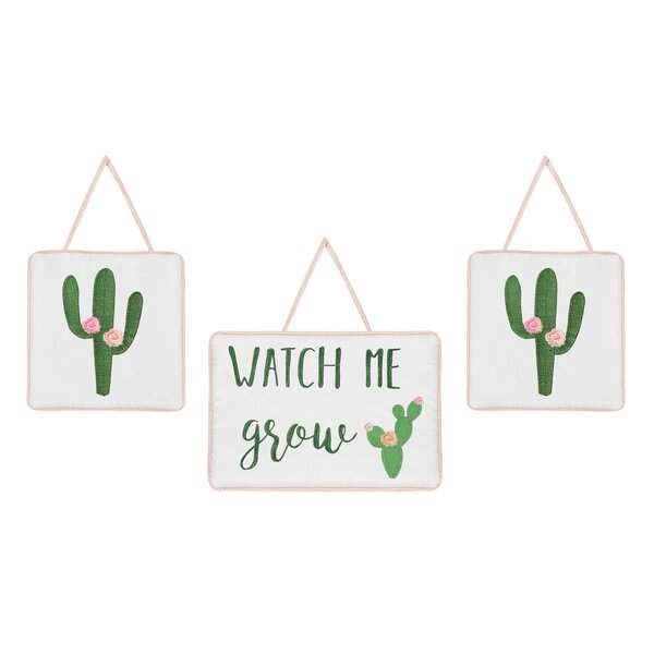 Cactus Floral Hanging Accessory by Sweet Jojo Designs