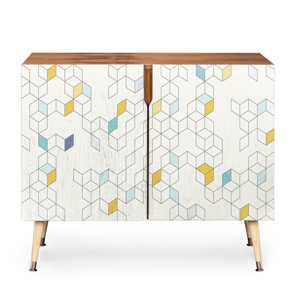 Keziah Day 2 Door Accent Cabinet by East Urban Home East Urban Home