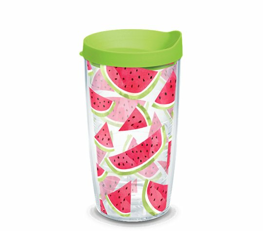 Watermelon Slice 16 oz. Plastic Travel Tumbler by Tervis Tumbler