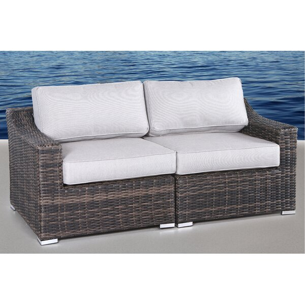 Dayse Loveseat with Cushions by Sol 72 Outdoor