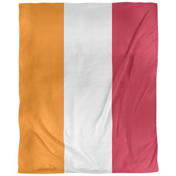 Tampa Bay Throwback Arizona Football Stripes Single Duvet Cover