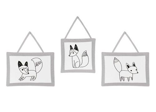 Fox Wall Hanging By Sweet Jojo Designs.