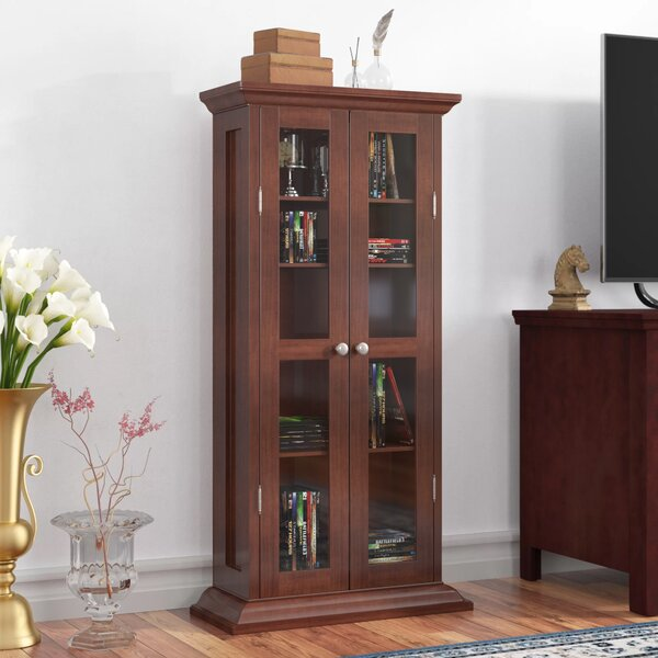 CD / DVD Multimedia Cabinet by Three Posts