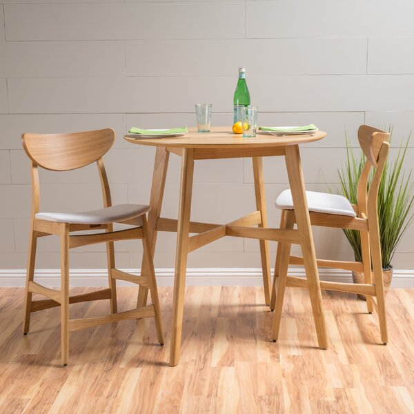 Denver 3 Piece Dining Set by Langley Street
