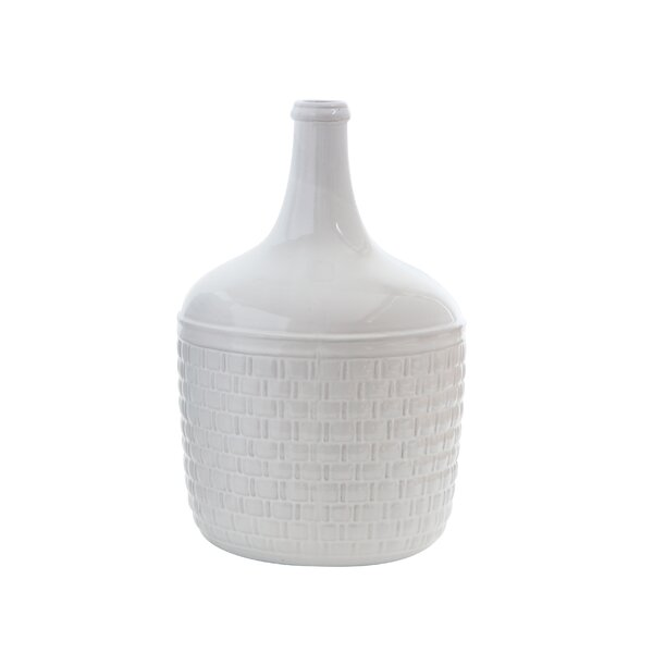 Daub Ceramic Bottle Table Vase by George Oliver
