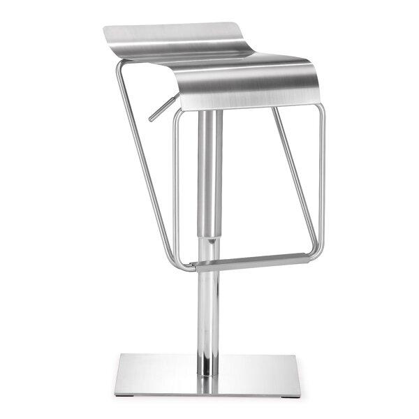 Raiford Swivel Adjustable Height Bar Stool By Trent Austin Design®