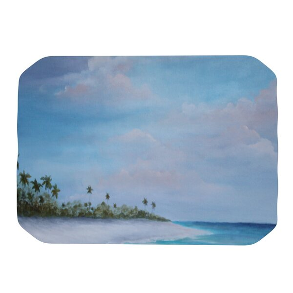 Carefree Caribbean Placemat by KESS InHouse