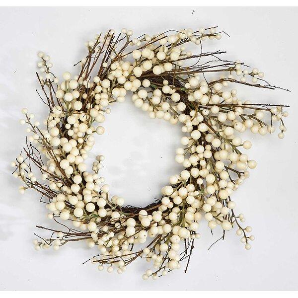 Berry 19 Styrofoam Wreath by August Grove