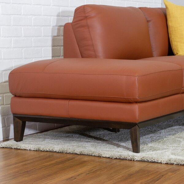 Home Décor Lorimer Leather Sectional Sofa