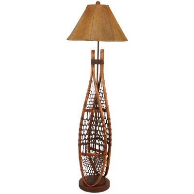 "Rustic Living Snow Shoe 62"" Floor Lamp Coast Lamp Mfg."