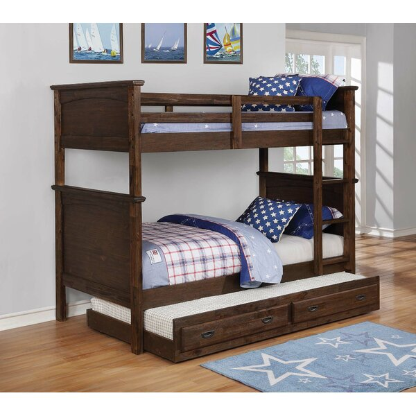Lechlade Twin over Twin Standard Bed by Harriet Bee