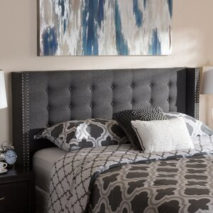 Jude Upholstered Wingback Headboard by Ivy Bronx