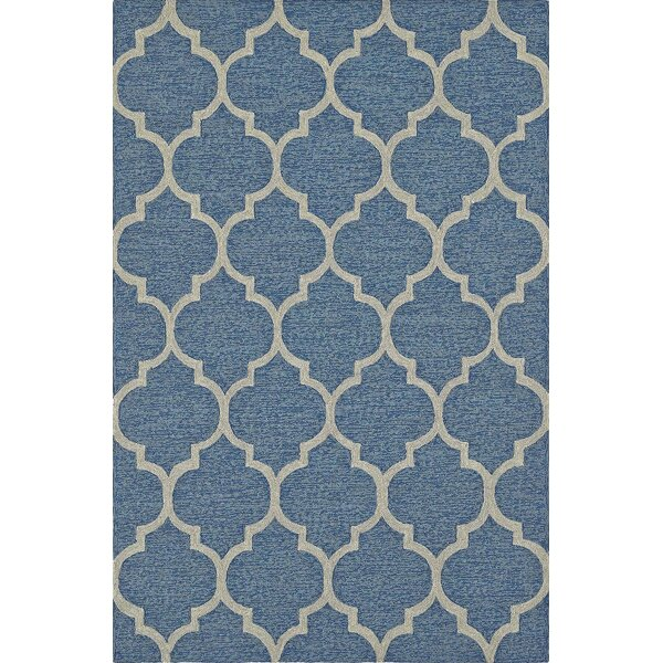 Cabana Hand-Tufted Sky Indoor/Outdoor Area Rug by Dalyn Rug Co.